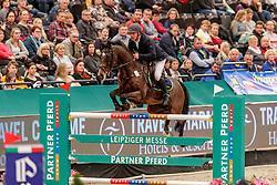 MOELLER Joerg (GER), Casado<br /> Leipzig - Partner Pferd 2020<br /> IDEE Kaffee-Preis<br /> Springprfg. nach Fehlern und Zeit, int.<br /> 17. Januar 2020<br /> © www.sportfotos-lafrentz.de/Stefan Lafrentz