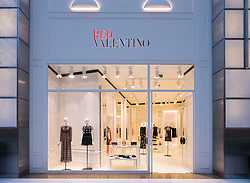Red Valentino fashion  shop in Dubai Mall Dubai United Arab Emirates