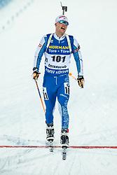 March 9, 2019 - –Stersund, Sweden - 190309 Tuomas Gronman of Finland competes in the Men's 10 KM sprint during the IBU World Championships Biathlon on March 9, 2019 in Östersund..Photo: Johan Axelsson / BILDBYRÃ…N / Cop 245 (Credit Image: © Johan Axelsson/Bildbyran via ZUMA Press)