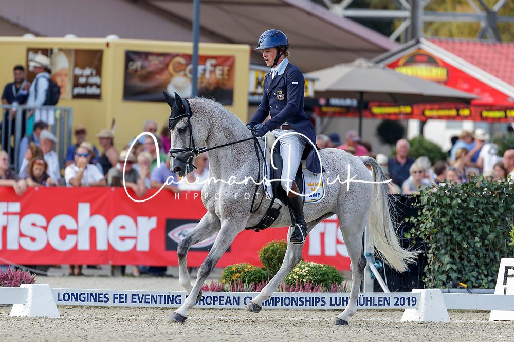 Svennerstal Ludwig, SWE, El Kazir SP<br /> European Championship Eventing<br /> Luhmuhlen 2019<br /> © Hippo Foto - Stefan Lafrentz