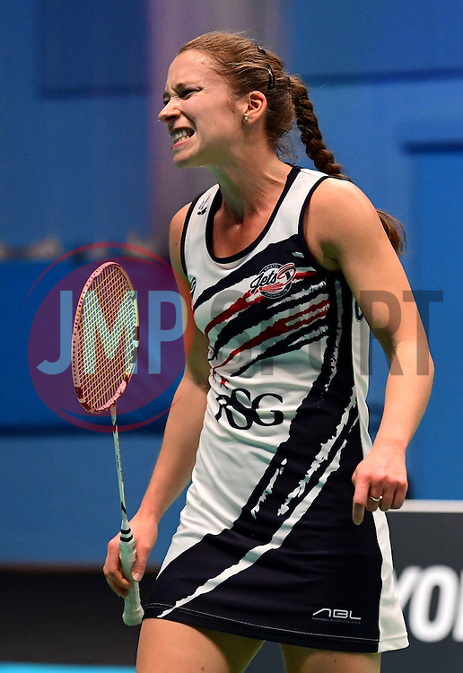 Nicky Cerfontyne of Bristol Jets  - Photo mandatory by-line: Robbie Stephenson/JMP - 07/11/2016 - BADMINTON - University of Derby - Derby, England - Team Derby v Bristol Jets - AJ Bell National Badminton League