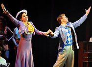 "Peggy Sawyer played by Caitlin Ehlinger and Billy Lawlor played by Blake Stadnik perform ""Young and Healthy in ""42nd Street"" at the Hanover Theatre for the Performing Arts on Friday, Feb. 19, 2016."