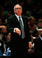 Larry Brown coach of the New York Knicks durring the game against the Boston Celtics at Madison Square Garden in New York City. Sunday 04 December 2005 The Knicks won the game 102-99 Photo by Andrew Gombert for the New York Times