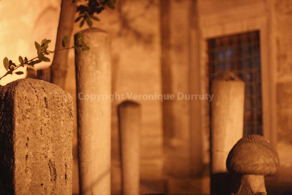 MUSLIM CEMETERY, ISTAMBUL, TURKEY