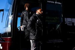 Ashley Williams of Bristol City arrives at Cardiff City - Mandatory by-line: Robbie Stephenson/JMP - 10/11/2019 -  FOOTBALL - Cardiff City Stadium - Cardiff, Wales -  Cardiff City v Bristol City - Sky Bet Championship