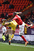 Charlton Athletic defender Rodd Fanni during the Sky Bet Championship match between Charlton Athletic and Milton Keynes Dons at The Valley, London, England on 8 March 2016. Photo by Martin Cole.