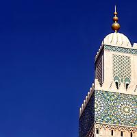North Africa, Africa, Morocco, Casablanca. Hassan II Mosque