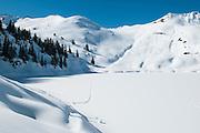 Bild von Oberstockensee in Winter