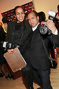 19 November-New York, NY: (L-R) Photographers Hannan Saleh and Johnny Nunez attends the 4th Annual WEEN (Women in Entertainment Empowerment Network) Awards held at Helen Mills Theater on November 19, 2014 in New York City.  (Terrence Jennings)
