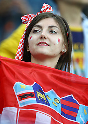 June 21, 2018 - Nizhny Novgorod, Russia - Group D Argentina v Croazia - FIFA World Cup Russia 2018.Croatia supporters at Nizhny Novgorod Stadium, Russia on June 21, 2018. (Credit Image: © Matteo Ciambelli/NurPhoto via ZUMA Press)