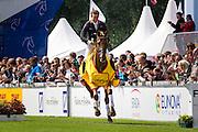 Christopher Burton - Holstein Park Leilani<br /> World Equestrian Festival, CHIO Aachen 2013<br /> © DigiShots