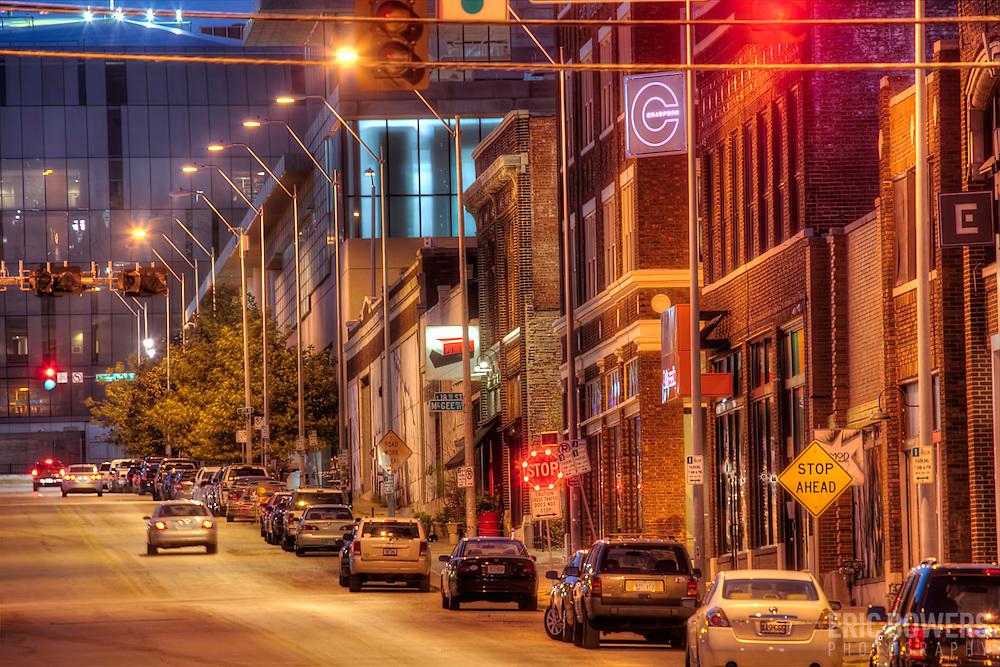 Downtown Kansas City Missouri near 19th & McGee.
