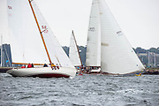 Sonny and Black Watch sailing in the Museum of Yachting Classic Yacht Regatta.