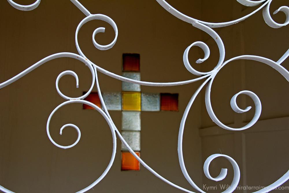 Central America, Nicaragua, Granada. Cemetary of Granada Cross.