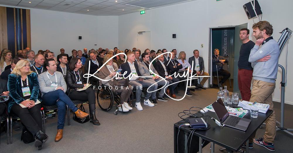 BUSSUM -  Jelmer van Heek en Ralph Grinwis (PGA)   Nationaal Golf Congres & Beurs. COPYRIGHT KOEN SUYK