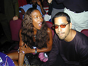 Naomi Campbell and David Blaine  <br />