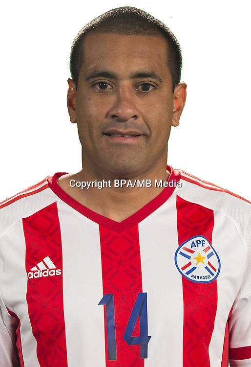 Football Conmebol_Concacaf - <br />Copa America Centenario Usa 2016 - <br />Paraguay National Team - Group A - <br />Nelson Antonio Haedo Valdez