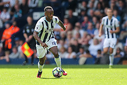 Saido Berahino of West Bromwich Albion in action - Rogan Thomson/JMP - 28/08/2016 - FOOTBALL - The Hawthornes - West Bromwich, England - West Bromwich Albion v Middlesbrough - Premier League.