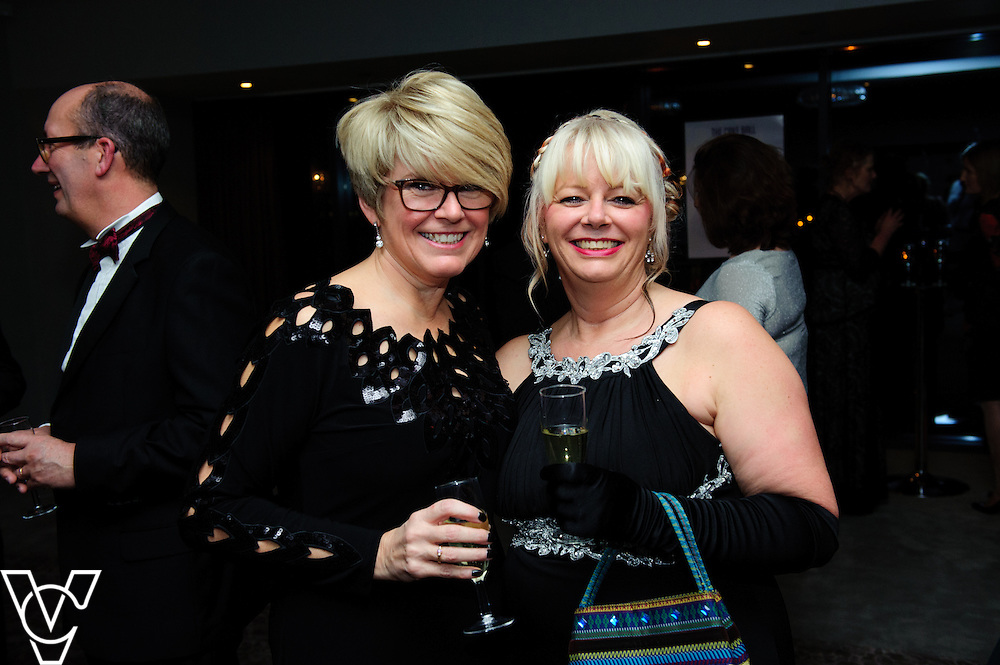 Lincoln Journal - Journal Society: <br /> <br /> Pictured, from left, Susan Odam and Karen Twell<br /> <br /> Journal Society pictures taken at the Cake Ball held at the DoubleTree by Hilton hotel in Lincoln.<br /> <br /> Date: January 8, 2015<br /> Picture: Chris Vaughan/Chris Vaughan Photography