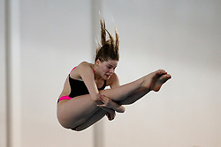 Katherine Torrance of City of Leeds Diving Club competes in the Womens 3m Springboard Final - Photo mandatory by-line: Rogan Thomson/JMP - 07966 386802 - 22/02/2015 - SPORT - DIVING - Plymouth Life Centre, England - Day 3 - British Gas Diving Championships 2015.