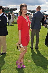 SASKIA BOXFORD at the 27th annual Cartier International Polo Day featuring the 100th Coronation Cup between England and Brazil held at Guards Polo Club, Windsor Great Park, Berkshire on 24th July 2011.