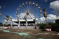Derelict ferris Wheel
