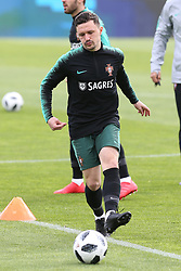 March 20, 2018 - Lisbon, Lisbon, Portugal - Portugal midfielder Ruben Neves during training session at Cidade do Futebol training camp in Oeiras, outskirts of Lisbon, on March 20, 2018 ahead of the friendly football match in Zurich against Egypt on March 23. (Credit Image: © Dpi/NurPhoto via ZUMA Press)