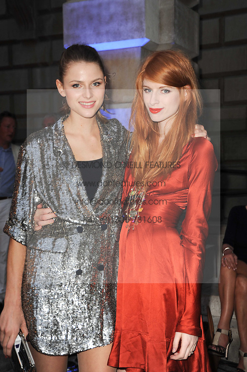 Left to right, sisters JESSE GOOD and IZZY GOOD at the Royal Academy of Arts Summer Party held at Burlington House, Piccadilly, London on 9th June 2010.