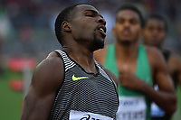 Ameer WEBB USA 200m Men winner <br /> Roma 03-06-2016 Stadio Olimpico <br /> IAAF Diamond League Golden Gala <br /> Atletica Leggera<br /> Foto Andrea Staccioli / Insidefoto