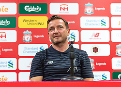 HONG KONG, CHINA - Thursday, June 6, 2019: Liverpool Legends' Vladimir Smicer during a press conference at the Hong Kong Stadium ahead of an exhibition match between Liverpool FC and Borussia Dortmund. (Pic by Jayne Russell/Propaganda)