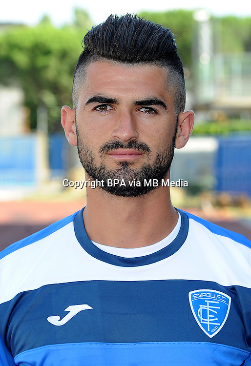 Italian League Serie A -2015-2016 / <br /> ( Empoli Fc  ) - <br /> Elseid Hysaj