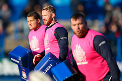 Will Hurrell of Bristol Rugby warms up - Rogan Thomson/JMP - 21/01/2017 - RUGBY UNION - Cardiff Arms Park - Cardiff, Wales - Cardiff Blues v Bristol Rugby - EPCR Challenge Cup.