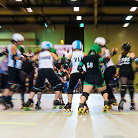 2014 - Ohio Roller Girls VS Queen City