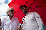 March 14, 2015 - FIA Formula E Miami EPrix: Sir Richard Branson Jaime Alguersuari, Virgin Racing