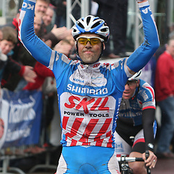 Job Vissers wint de 58e ronde vna Overijssel voor Andy Cappele en Dennis Smit