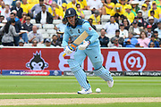 Jason Roy of England sets off to run 2 during the ICC Cricket World Cup 2019 semi final match between Australia and England at Edgbaston, Birmingham, United Kingdom on 11 July 2019.