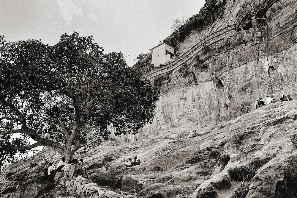 Ethiopia, Mezabir, Mezabir, Debre Damo monastery