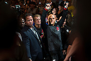 Robbie Lawler prepares to enter the Octagon against Rory MacDonald during UFC 189 at the MGM Grand Garden Arena in Las Vegas, Nevada on July 11, 2015. (Cooper Neill)