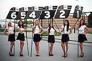 Lamborghini grid girls.