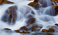 A picture of a water fall in Rocky Mountain National Park.<br />