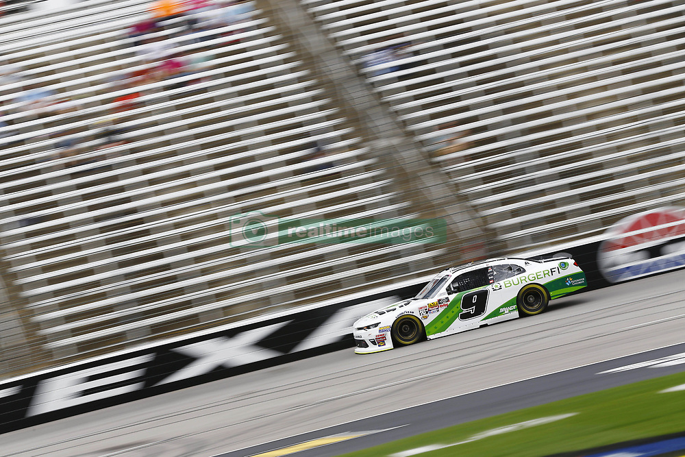 April 6, 2018 - Ft. Worth, Texas, United States of America - April 06, 2018 - Ft. Worth, Texas, USA: Tyler Reddick (9) brings his race car down the front stretch during practice for the My Bariatric Solutions 300 at Texas Motor Speedway in Ft. Worth, Texas. (Credit Image: © Chris Owens Asp Inc/ASP via ZUMA Wire)