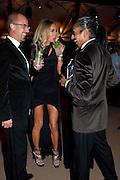 TONY GOODWIN; JUSTINE NAVIEDE; PARVAIZ NAVIEDE, Evgeny Lebedev and Graydon Carter hosted the Raisa Gorbachev charity Foundation Gala, Stud House, Hampton Court, London. 22 September 2011. <br /> <br />  , -DO NOT ARCHIVE-© Copyright Photograph by Dafydd Jones. 248 Clapham Rd. London SW9 0PZ. Tel 0207 820 0771. www.dafjones.com.