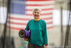 Thornton Oaks residents exercise run and swim at Bowdoin College field house and pool