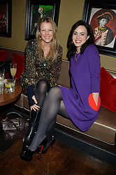 Left to right, TILLY WOOD and SALLY WOOD at a party to launch Madderson London Women's Wear held at Beaufort House, 354 Kings Road, London on 23rd January 2014.