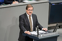 08 NOV 2018, BERLIN/GERMANY:<br /> Martin Hebner, MdB, AfD, haelt eine Rede, Bundestagsdebatte zum sog. Global Compact fuer Migration, Plenum, Deutscher Bundestag<br /> IMAGE: 20181108-01-053<br /> KEYWORDS: Sitzung