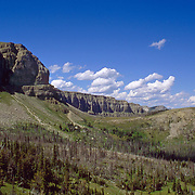 The Chinese Wall, Bob Marshall Wilderness Area, Lewis & Clark National Forest