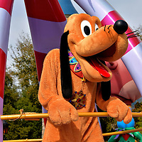 Pluto on Parade at Magic Kingdom in Orlando, Florida<br />
