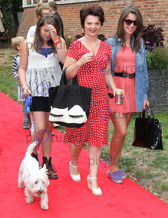 Lulu Guinness Cats & Dogs: The Revenge Of Kitty Galore UK Open Air Premiere, Holland Park Theatre, Kensington, London, UK, 01 August 2010: For piQtured Sales contact: Ian@Piqtured.com +44(0)791 626 2580 (Picture by Richard Goldschmidt/Piqtured)