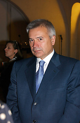 VAGIT ALEKPEROV President of Lukoil at 'Britannia & Muscovy English Silver at The Court of The Tsars' exhibition opening at the Gilbert Collection, Somerset House, London on 20th October 2006<br /><br />NON EXCLUSIVE - WORLD RIGHTS
