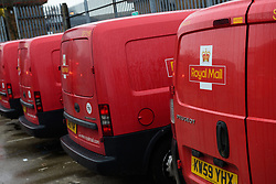 Colleagues at the Royal Mail's Dinnington Mail Processing Unit (Dinnington Delivery Office) are setting a national standard when it come to doorstep scanning.  The team have topped 95% on compliance for parcels and large letters.<br /> <br /> Picture: Chris Vaughan Photography<br /> Date: February 2018